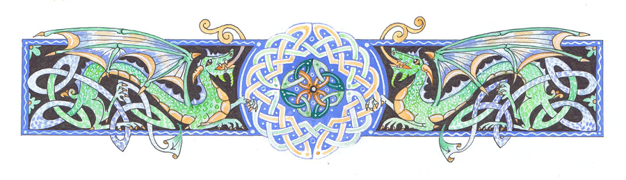 Celtic decoration