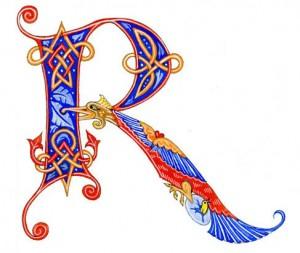 initiale-enluminee