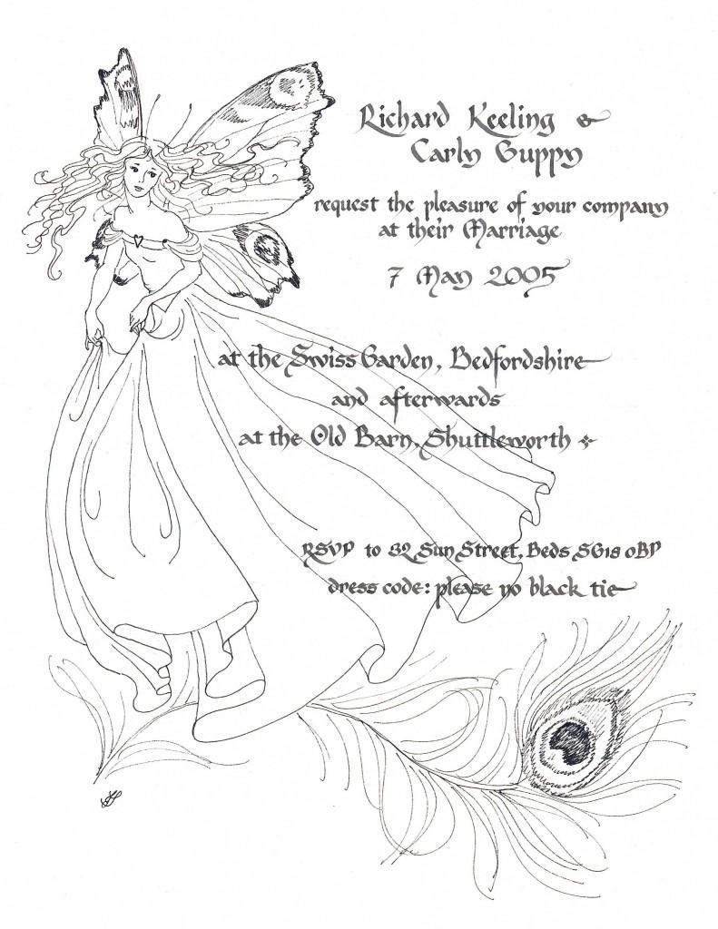 wedding invitation 01