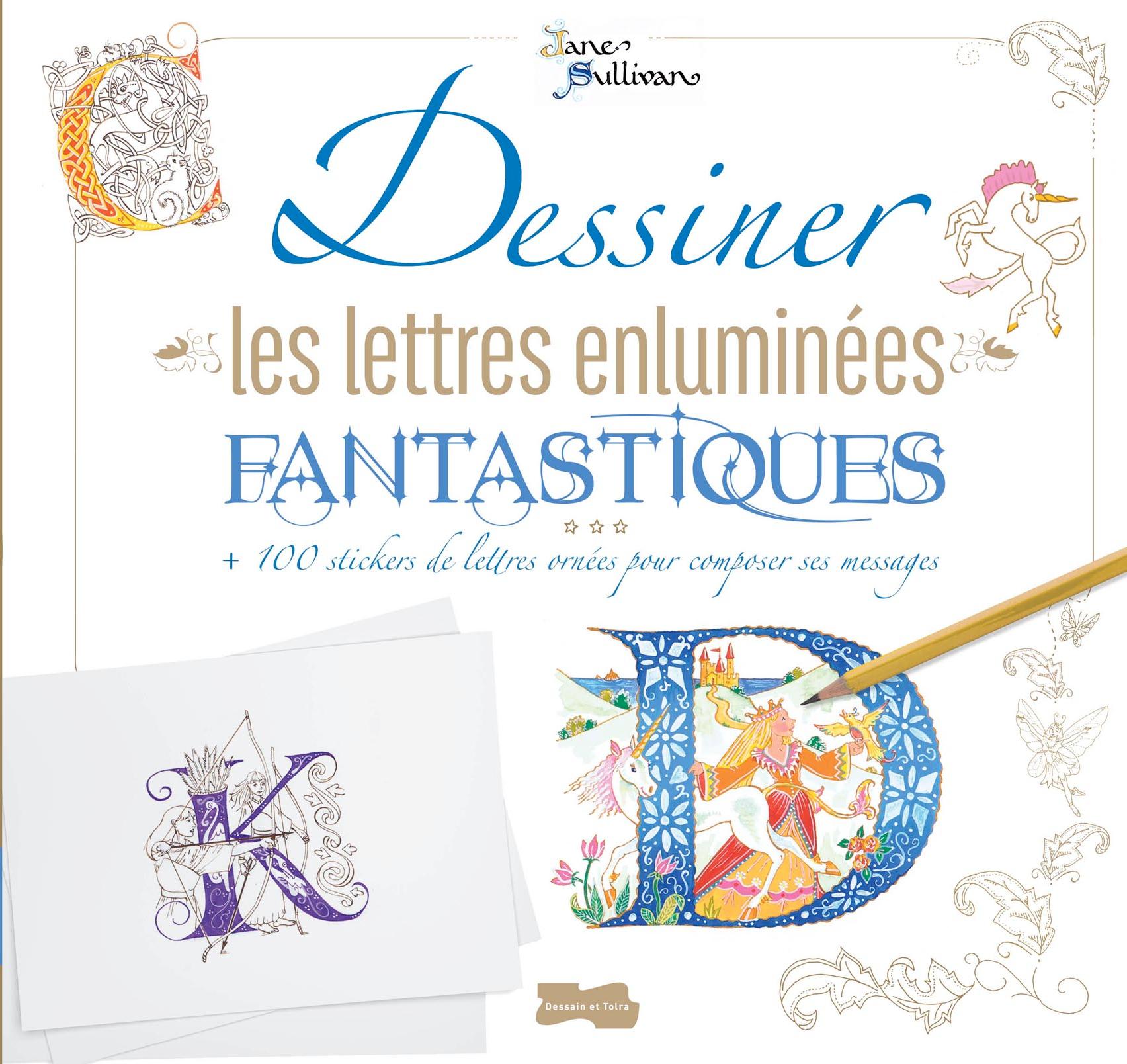 Lettres enluminées fantastiques